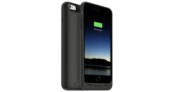 Mophie Juice Pack Apple iPhone 6 Plus/6s Plus Zwart