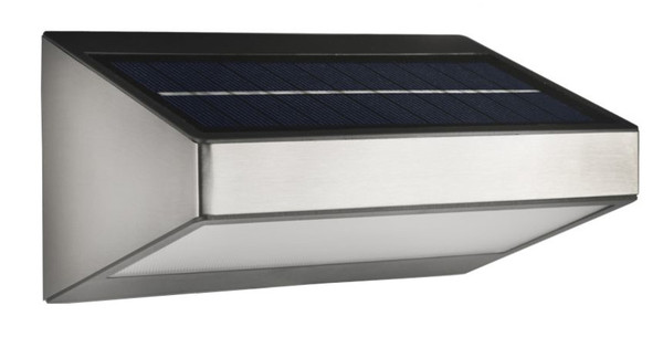 Philips myGarden Solar Wandlamp Rvs