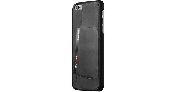 Mujjo Leather Wallet Case 80° Apple iPhone 6 Plus/6s Plus Zwart