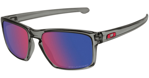 acb768ffee Oakley Sliver Grey Smoke Positive Red Iridium Polarized - Coolblue ...
