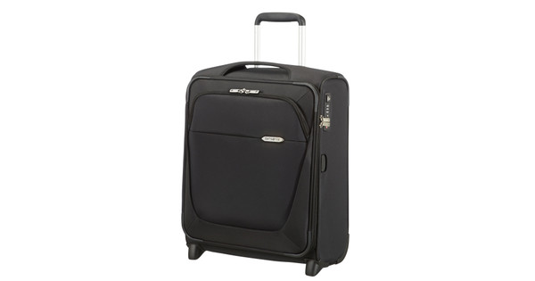 9030409fdc1 Samsonite B-Lite 3 Upright 55 cm Black - Coolblue - Voor 23.59u ...