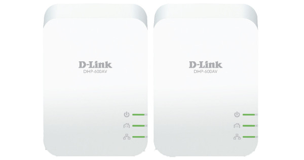 D-Link DHP-601AC No WiFi 1,000Mbps 2 adapters