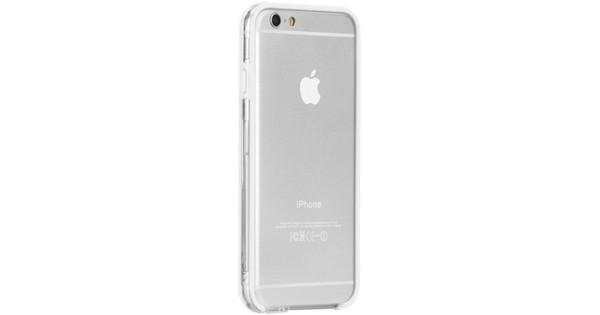 Case-mate Tough Frame Bumper Case iPhone 6/6s Clear/Wit