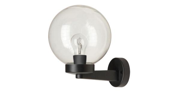 Solar Wandlamp Tuin : Ranex globe wandlamp transparant coolblue alles voor een glimlach