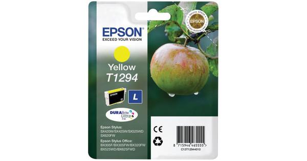 Epson T1294 Large Ink Cartridge Yellow (Geel) C13T12944011
