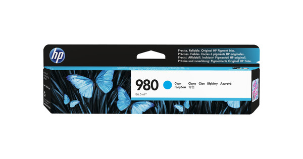HP 980 Cartridge Cyaan (D8J07A)