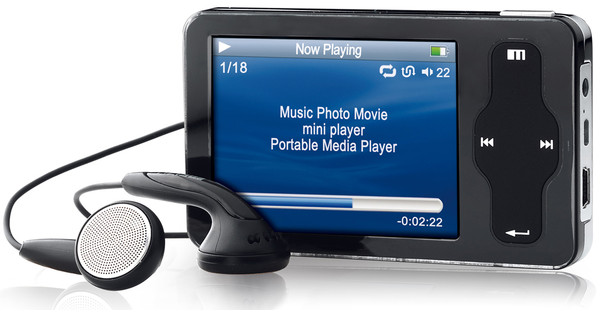 Dane-Elec Meizu miniPlayer 4 GB Black