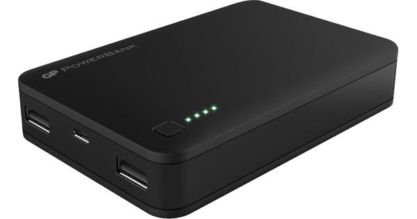 GP Portable Powerbank N302 12.000 mAh Zwart