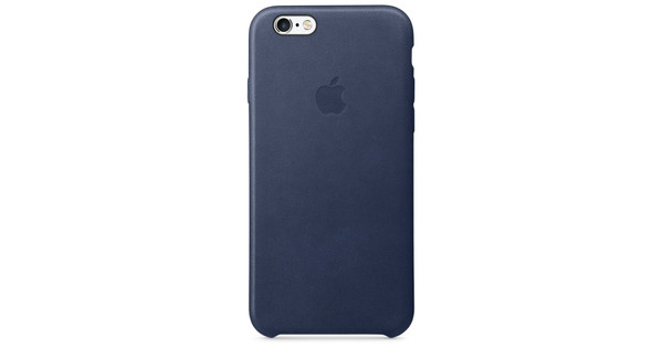 online retailer e4828 ddb88 Apple iPhone 6/6s Leather Case Cosmos Blue