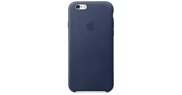 online retailer 41135 84cf6 Apple iPhone 6/6s Leather Case Cosmos Blue