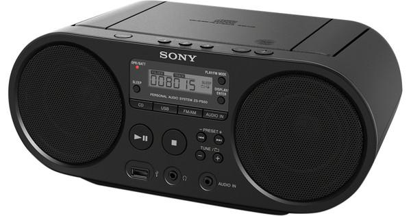 e753caf8830a86 Sony ZS-PS50 Noir - Coolblue - avant 23 59, demain chez vous