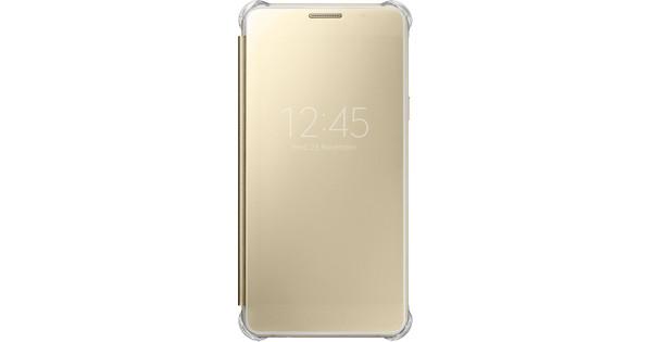 Samsung Galaxy A5 (2016) Clear View Cover Goud