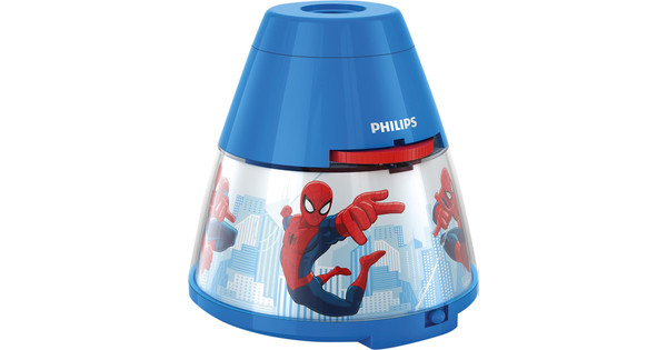 Licht Projector Kinderkamer : Philips disney spider man projector coolblue alles voor een glimlach