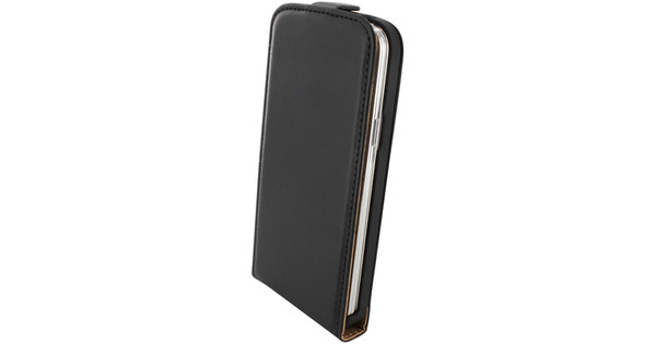 Mobiparts Essential Flip Case Samsung Galaxy S5 Mini Zwart