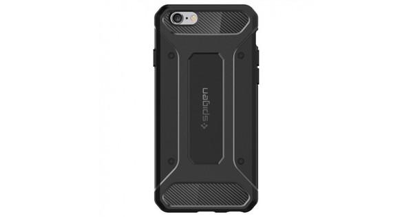 size 40 21f3b edbc9 Spigen Capsule Ultra Rugged iPhone 6 Plus / 6s Plus Zwart