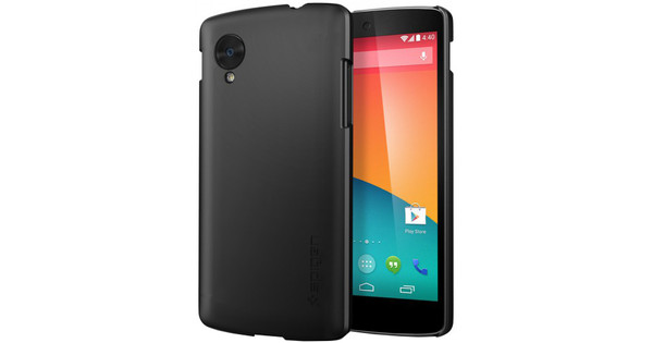 Spigen Ultra Fit Premium Hard Case LG Nexus 5 Zwart