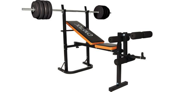 Gymstick Banc De Musculation Pliable 40 Kg Coolblue Avant 2359