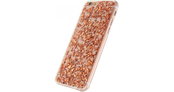 Xccess Glitter TPU Case Apple iPhone 6/6s Brons