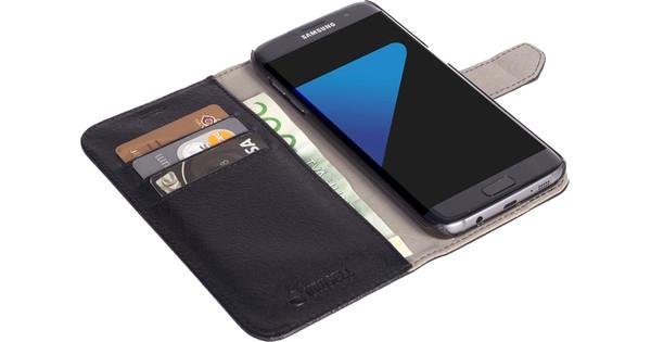Krusell Malmo Wallet Case Samsung Galaxy S7 Edge Zwart