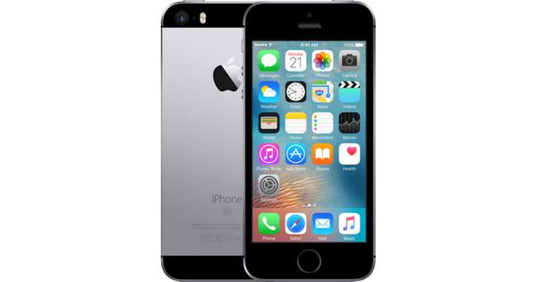 Apple iPhone SE 64 Go Gris sidéral - Coolblue - avant 23 59, demain ... 4edeccd34057
