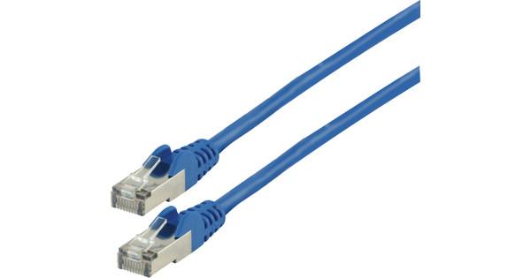 Valueline Câble réseau FTP CAT6 10 mètres bleu