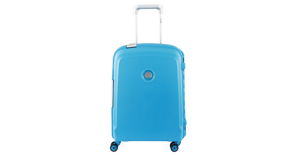 Delsey Belfort Plus Slim Trolley 55cm Lichtblauw