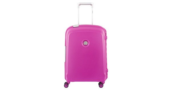 Delsey Belfort Plus Slim Trolley 55cm Roze