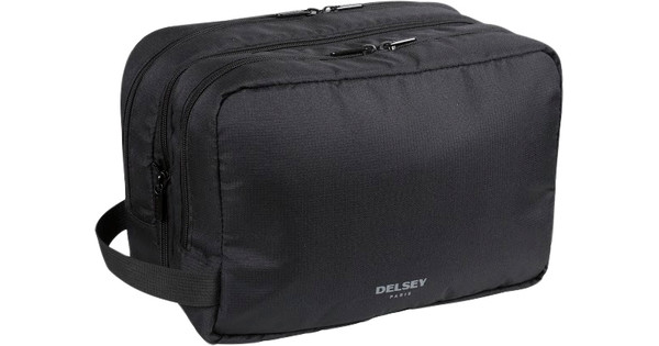 Delsey Travel Necessities Expandable Wet Pack Black