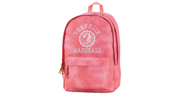 Franklin & Marshall Girls Double Backpack Vintage Coral
