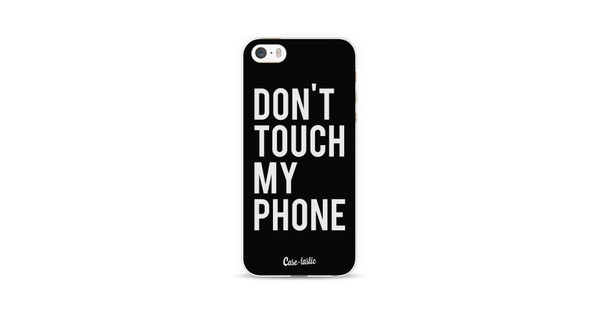 Casetastic Softcover Apple iPhone 5/5S/SE Don't Touch My Phone