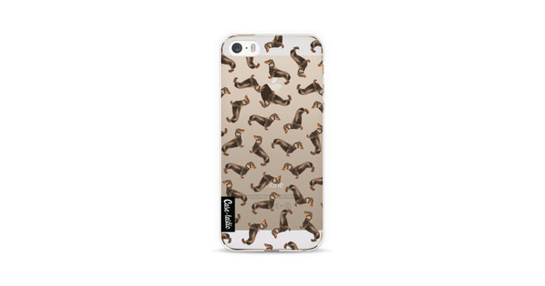 Casetastic Softcover Apple iPhone 5/5S/SE Teckel Twister