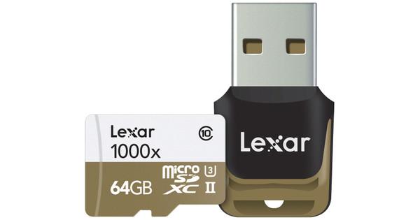 Lexar microSDXC Professional 64GB 1000x UHS-II