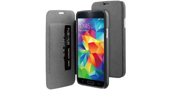BeHello Book Case Samsung Galaxy S5 / S5 Neo Zwart