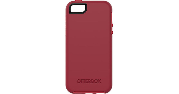 new concept aa7f8 4fd9c Otterbox Symmetry Apple iPhone 5/5S/SE Red