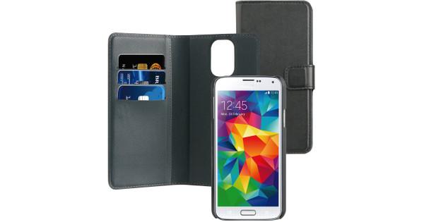 BeHello 2-in-1 Wallet Case Samsung Galaxy S5 / S5 Neo Zwart