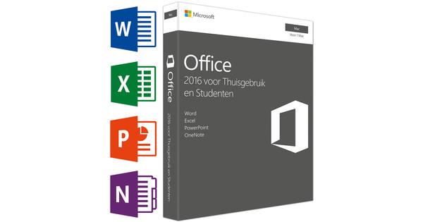 Microsoft Office Mac Thuisgebruik en Studenten NL