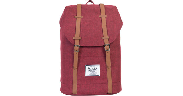 Herschel Retreat Winetasting Crosshatch/Tan Synthetic Leather