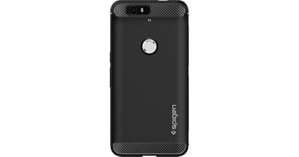 Spigen Rugged Armor Huawei Nexus 6P Zwart