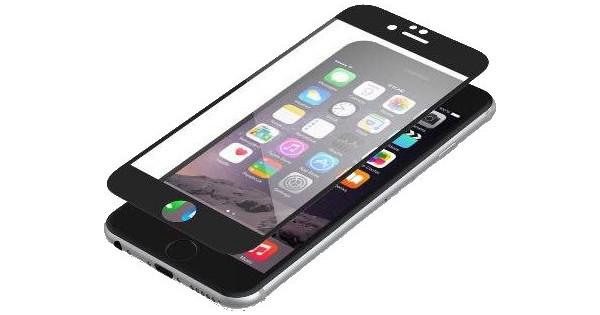 InvisibleShield Protège-écran pour Apple iPhone 6/6s Noir