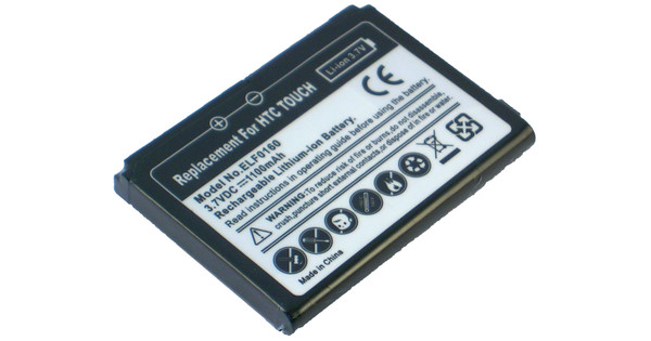 Veripart Battery HTC Touch 1100 mAh + Thuislader