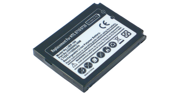 Veripart Battery HTC S710 1050 mAh + Thuislader