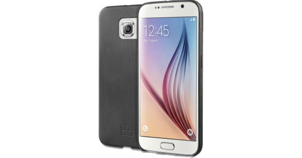 BeHello Thin Back Samsung Galaxy S6 Zwart