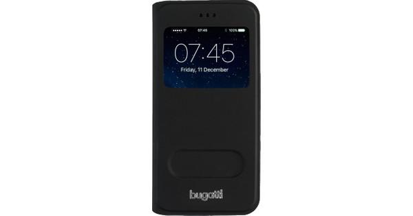 Bugatti Book Case Lausanne Apple iPhone 6/6s Zwart