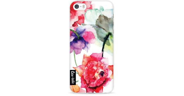 Casetastic Softcover Apple iPhone 5/5S/SE Watercolor Flowers