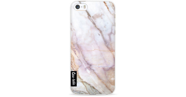 Casetastic Softcover Apple iPhone 5/5S/SE Pink Marble