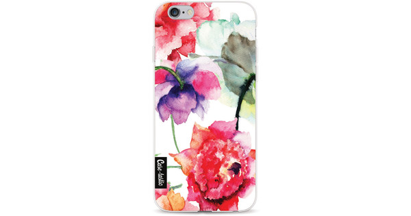 Casetastic Softcover Apple iPhone 6/6s Watercolor Flowers