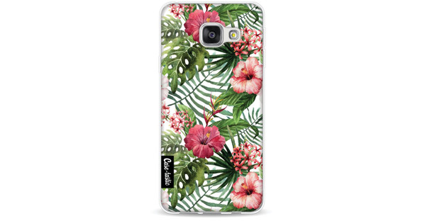 Casetastic Softcover Samsung Galaxy A3 (2016) Tropical Flowers