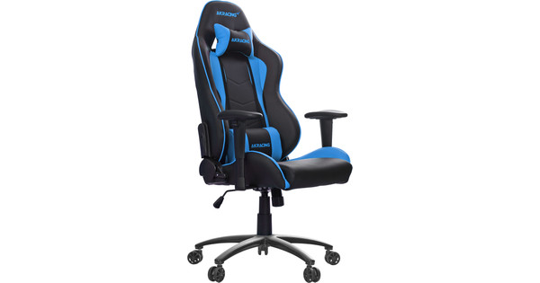 Sensational Ak Racing Nitro Gaming Chair Blue Theyellowbook Wood Chair Design Ideas Theyellowbookinfo