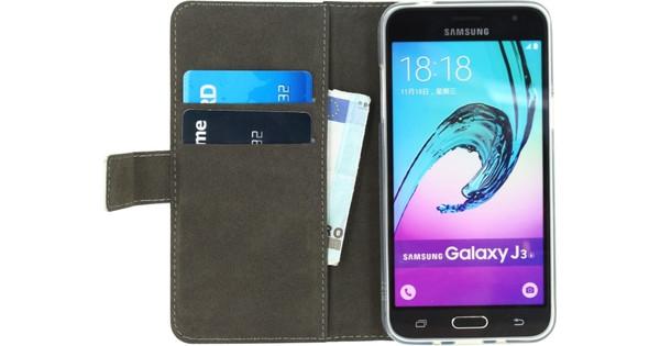 Mobilize Gelly Wallet Book Case Samsung Galaxy J3 (2016) Wit
