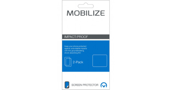 Mobilize Impact Proof Screenprotector Apple iPhone 7 Plus Duo Pack